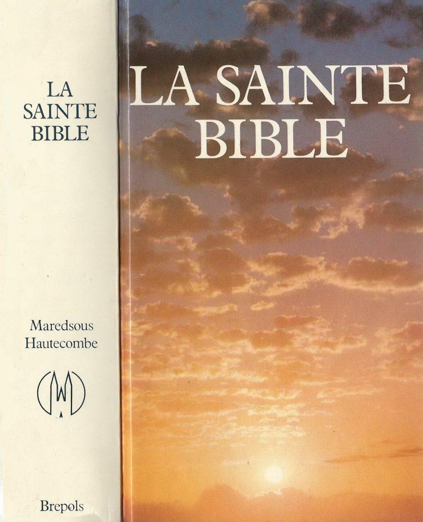 Bible Maredsous 1968