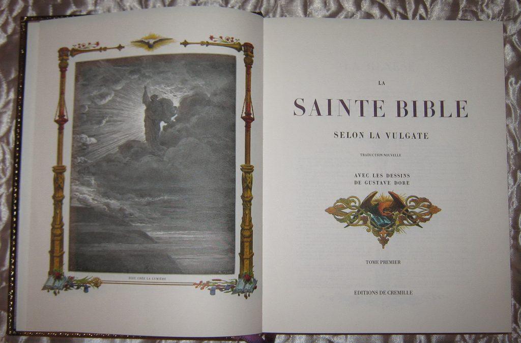 La Sainte Bible- Cremille 1990