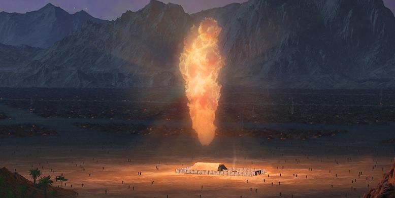 Jean 1.14 – Il a planté sa tente parmi les siens