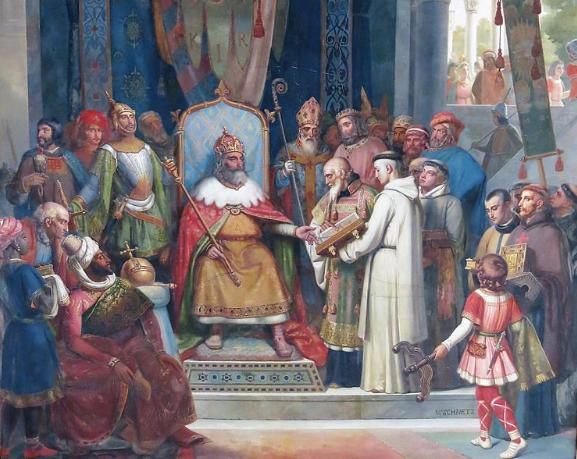 Charlemagne et la Bible