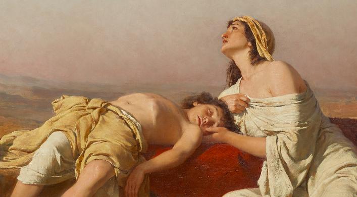 Genèse 21.14 – L'outre ou l'enfant