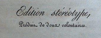 Le Nouveau Testament – 1813